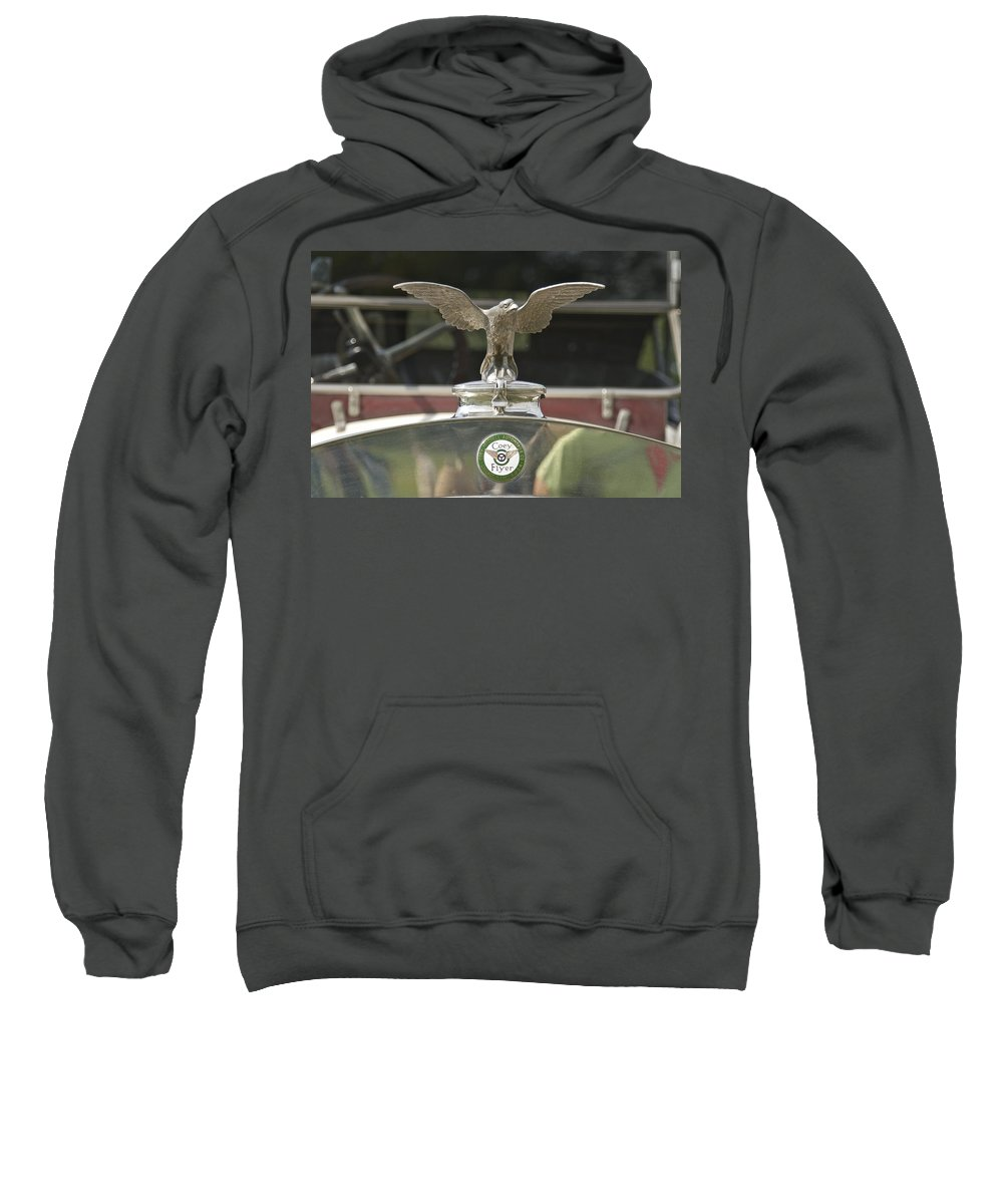 Coey Sweatshirt featuring the photograph Coey Flyer by Jack R Perry