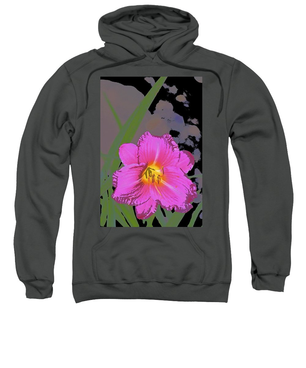 Floral Sweatshirt featuring the photograph Color 139 by Pamela Cooper