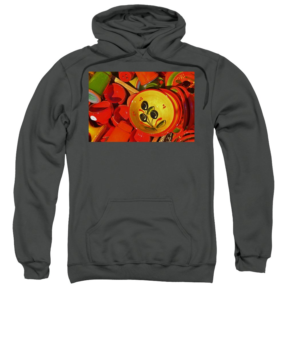 Bowl Sweatshirt featuring the photograph Color Your Life 5 by Dany Lison