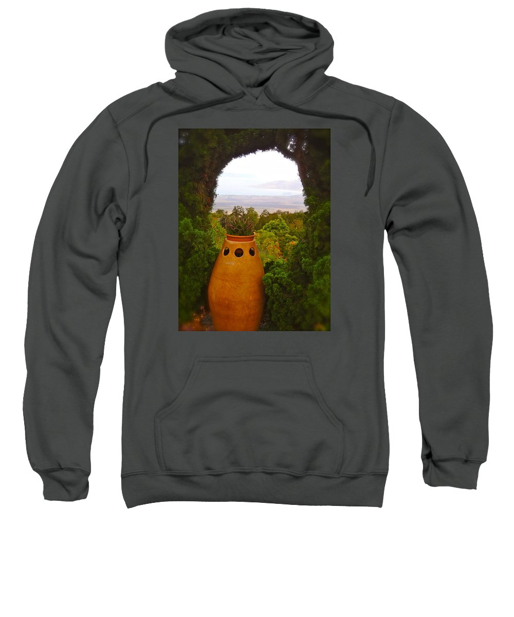 Wonder Sweatshirt featuring the photograph Come Away With Me by Esther Wilhelm Pridgen