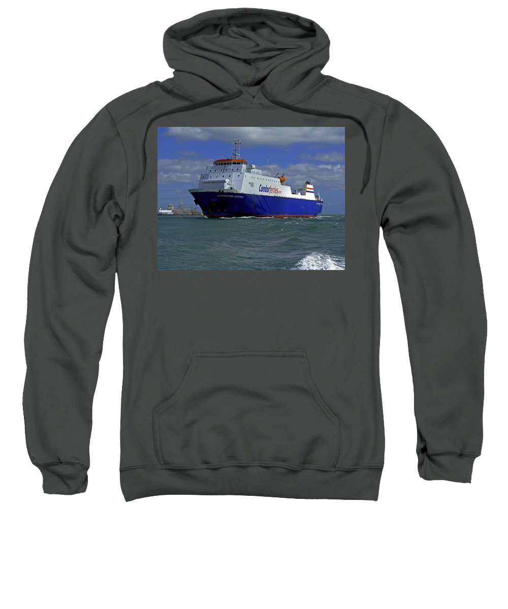 Commodore Goodwill Sweatshirt featuring the photograph Commodore Goodwill by Tony Murtagh