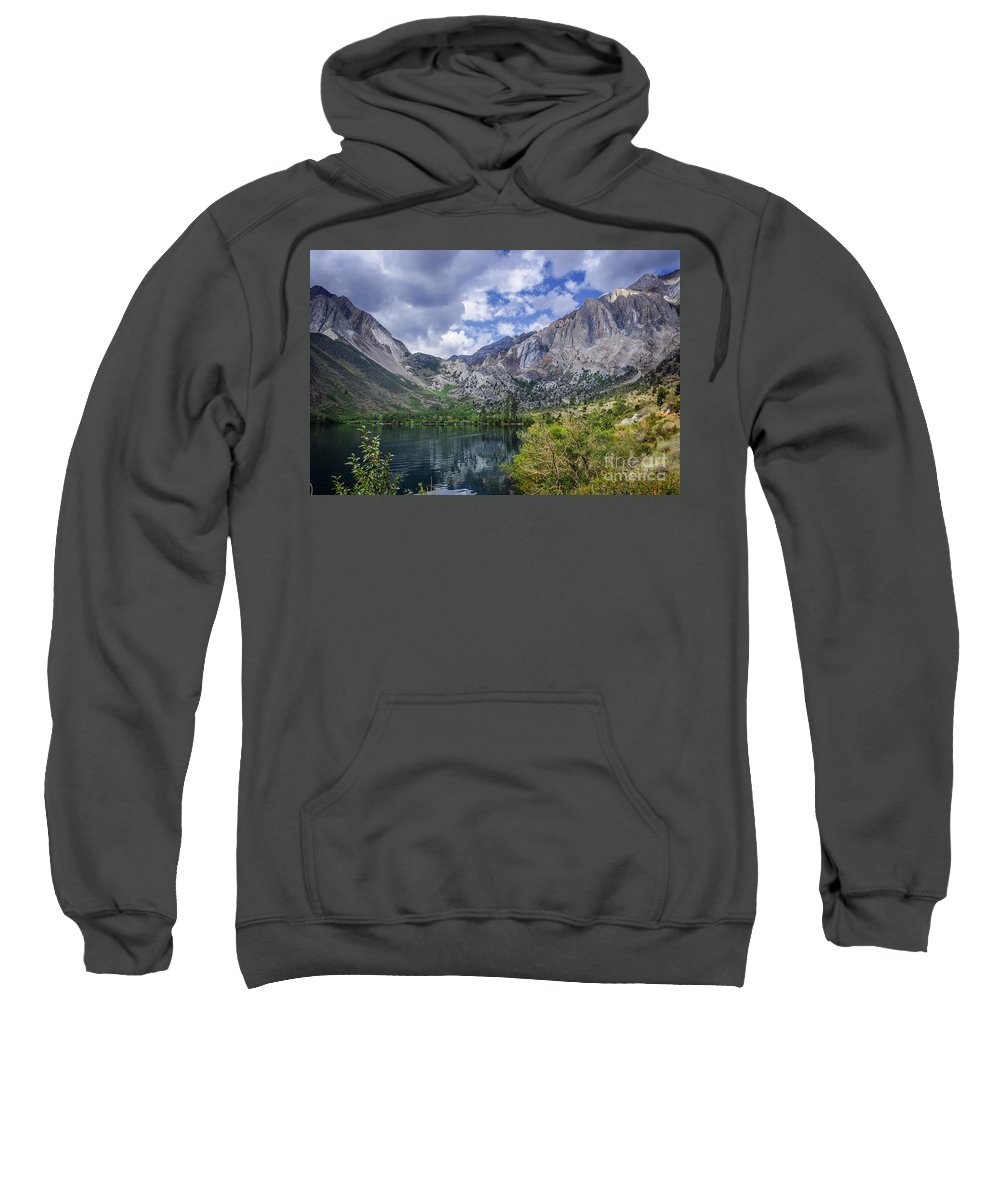 Lake Sweatshirt featuring the photograph Convict Lake by Dianne Phelps