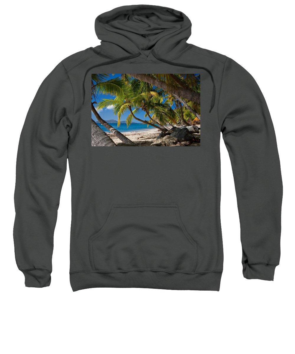 3scape Sweatshirt featuring the photograph Cooper Island by Adam Romanowicz