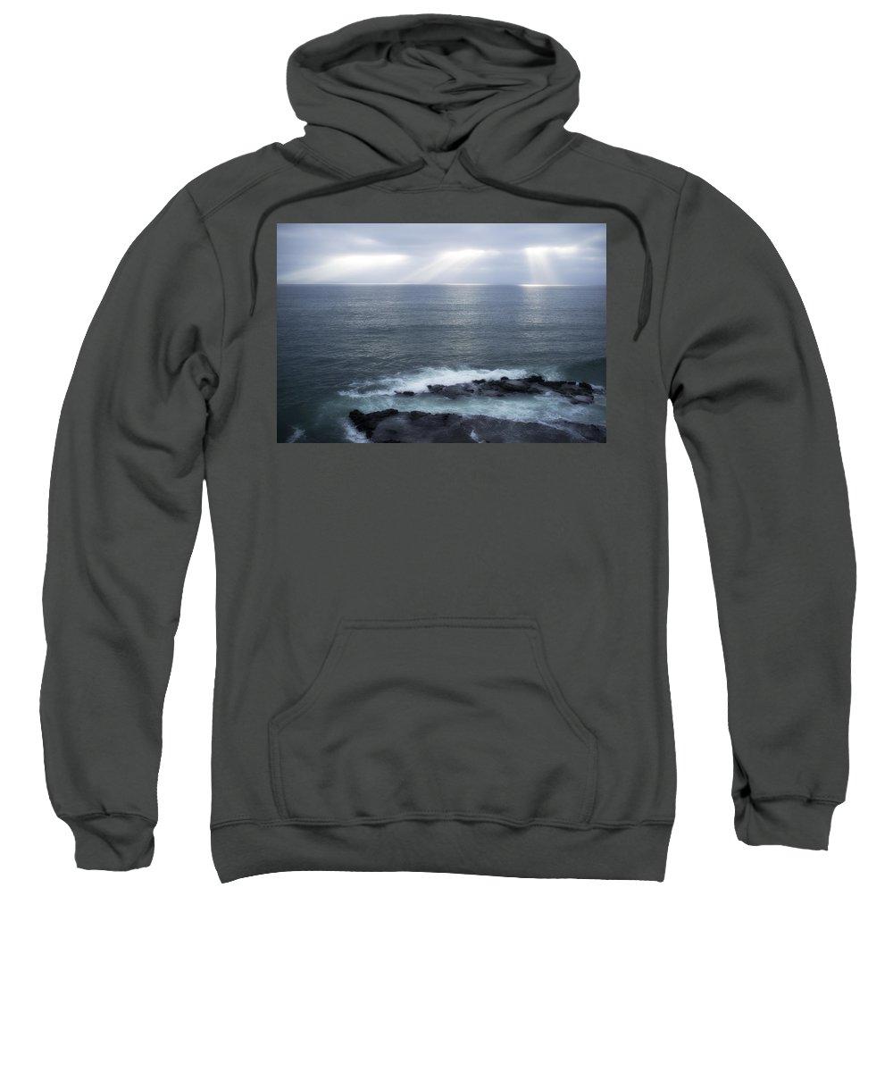 Coranado Sweatshirt featuring the photograph Coronado Islands Baja California by Hugh Smith