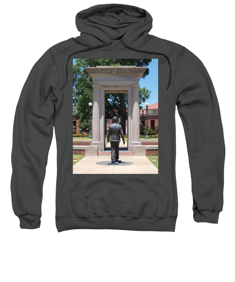 Courage Sweatshirt featuring the photograph Courage by Joshua House