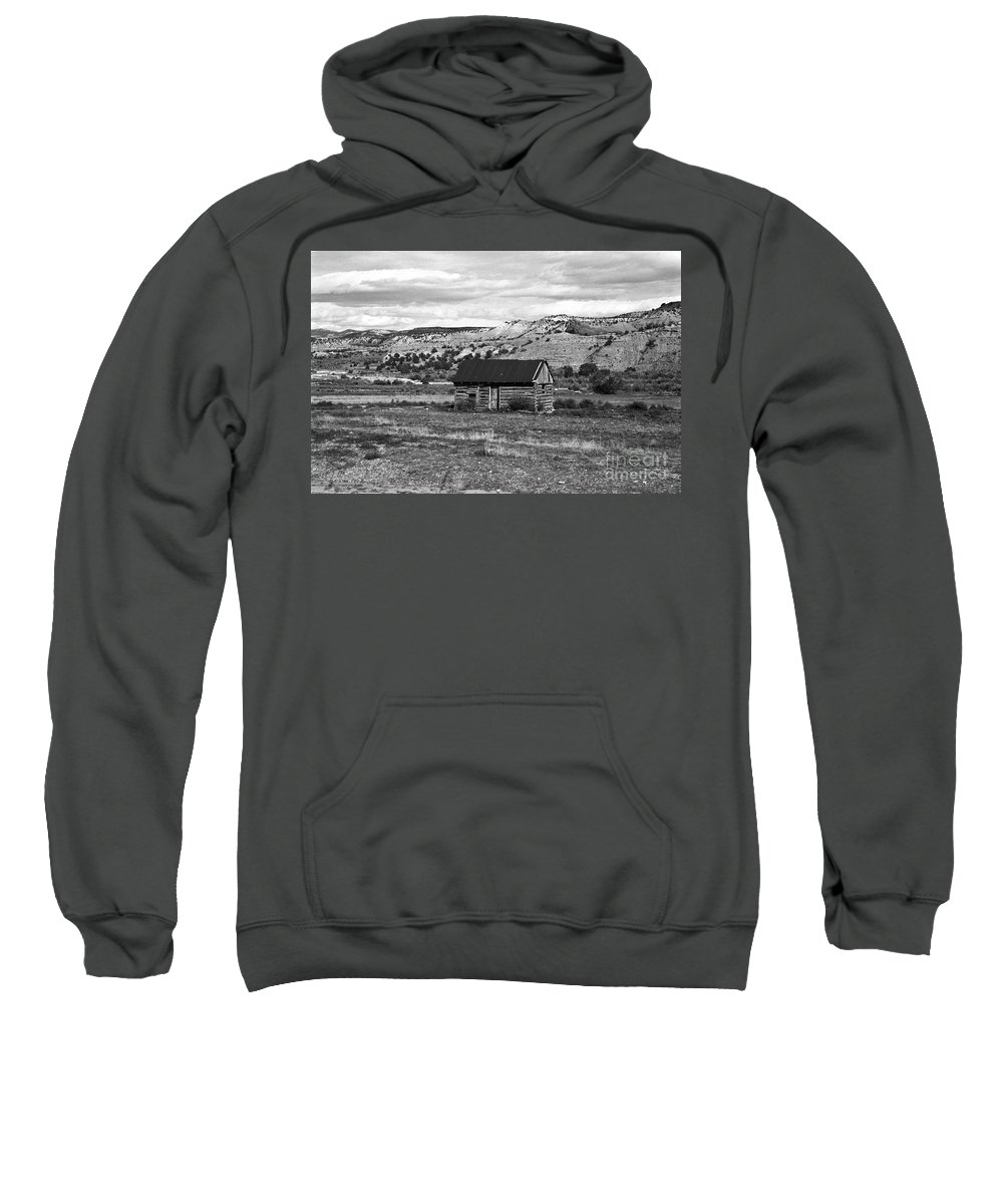 Utah Sweatshirt featuring the photograph Courage by Kathy McClure