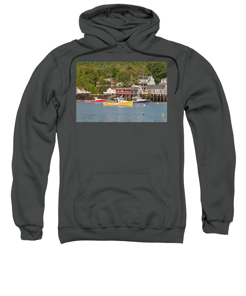 Boat Sweatshirt featuring the photograph Crayon Box 1381 by Guy Whiteley