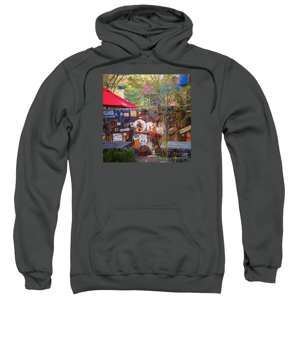 Madrid Sweatshirt featuring the photograph Crazy Madrid by LeLa Becker