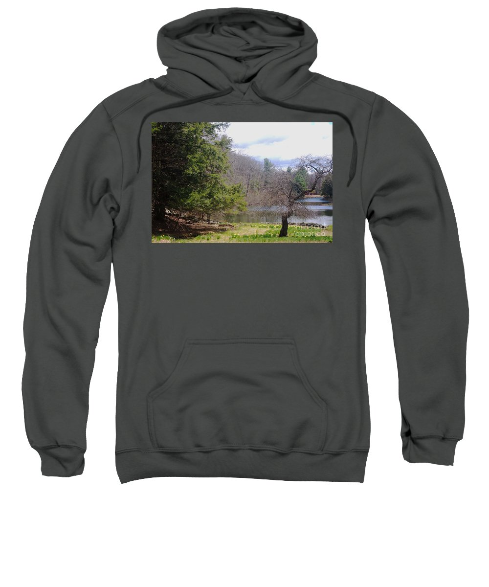 Tree Sweatshirt featuring the photograph Crooked Tree by Ray Konopaske