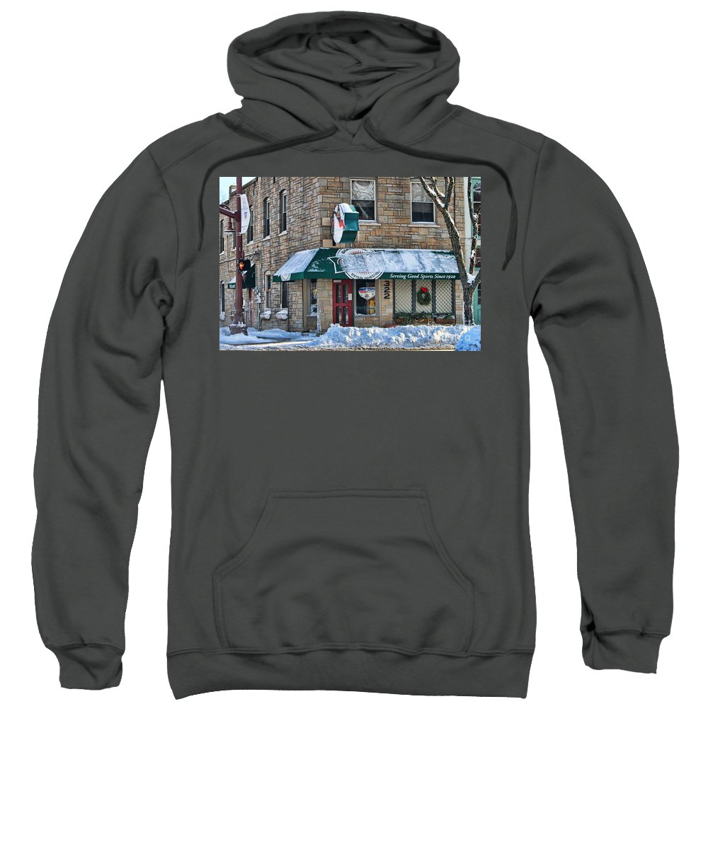 Dale's Bar And Grill Sweatshirt featuring the photograph Dales Bar And Grill by Jack Schultz