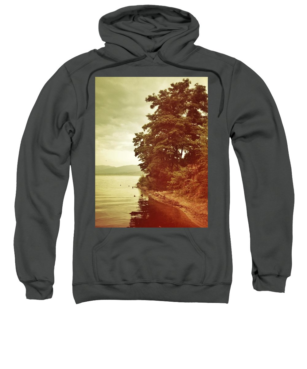 Sweatshirt featuring the photograph Dancing Tree by The Artist Project
