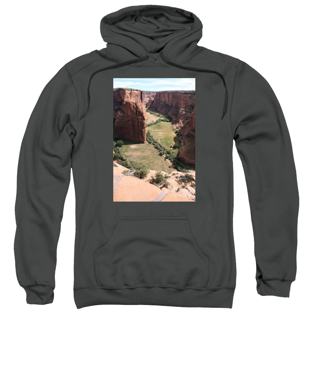 Canyon Sweatshirt featuring the photograph Deep Canyon De Chelly by Christiane Schulze Art And Photography