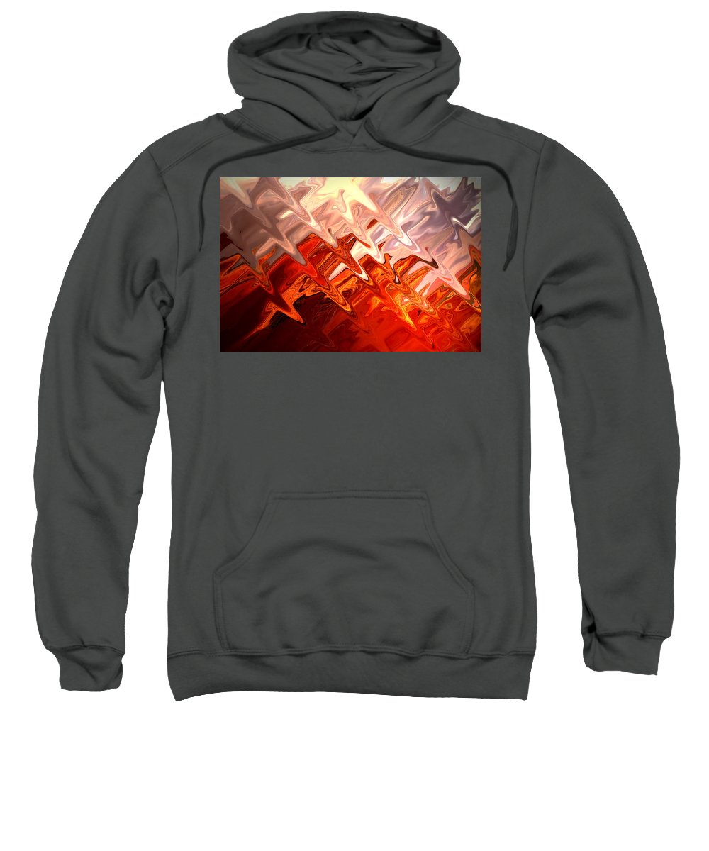 Abstract Sweatshirt featuring the photograph Desert Light by Aidan Moran