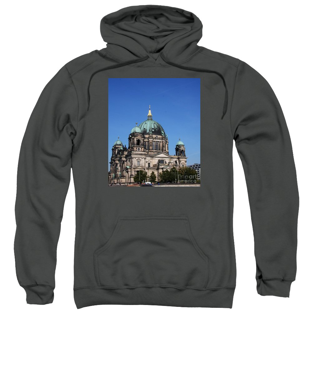 Deutscher Dom Sweatshirt featuring the photograph Deutscher Dom by Christiane Schulze Art And Photography