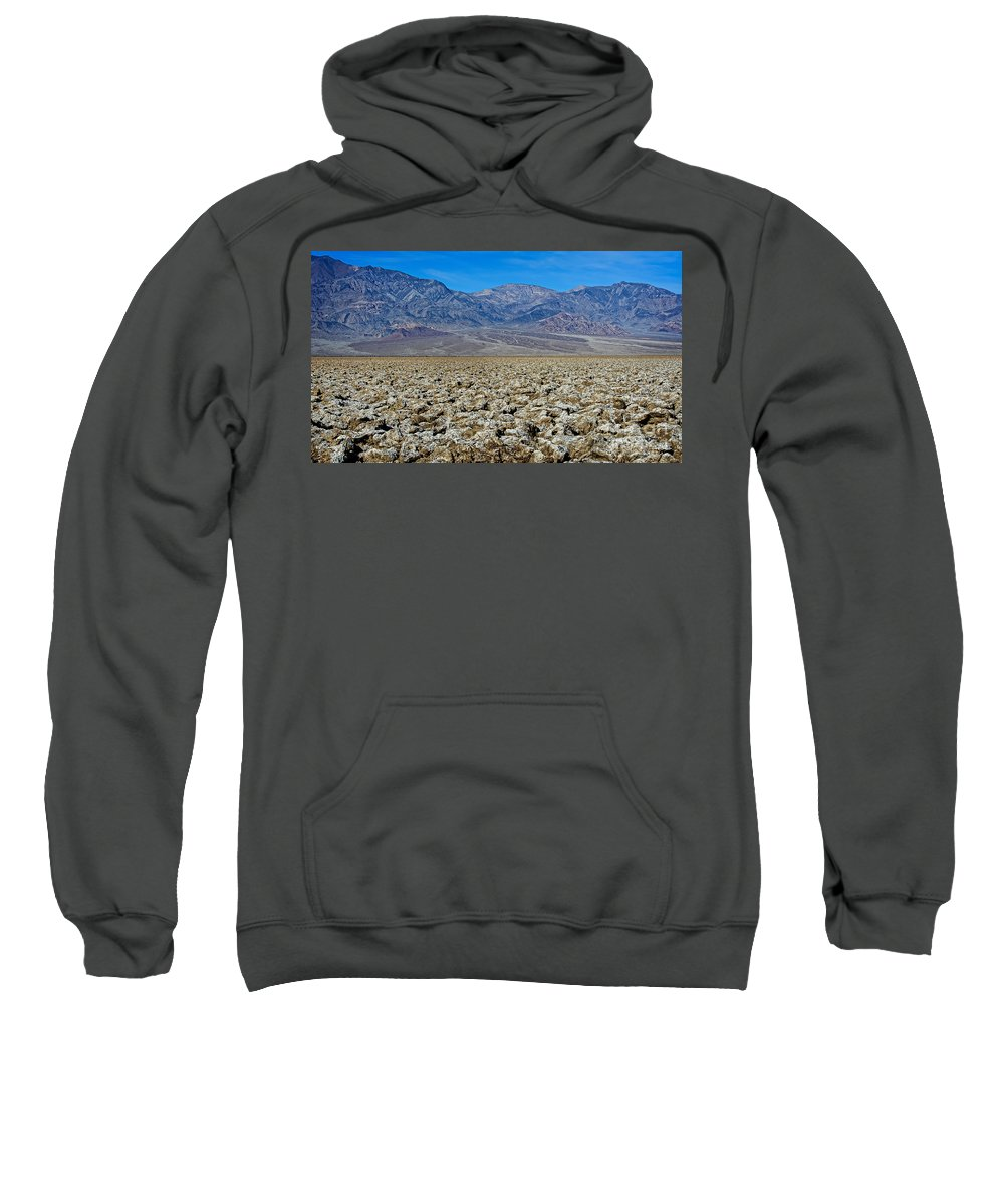 Art Sweatshirt featuring the photograph Devil's Golf Course by Charles Dobbs