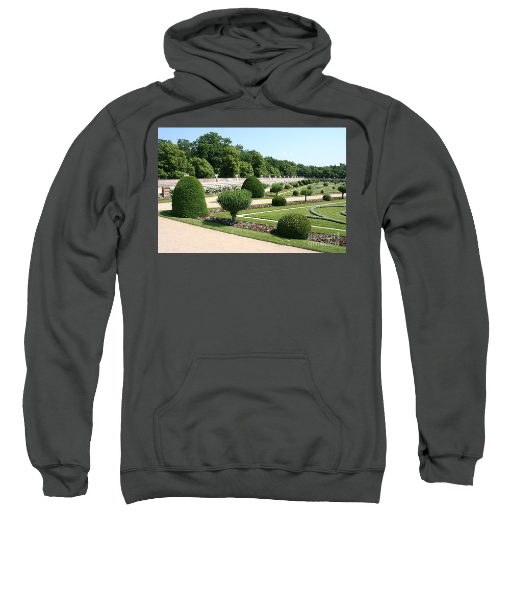 Garden Sweatshirt featuring the photograph Diane De Poitiers' Gardens by Christiane Schulze Art And Photography