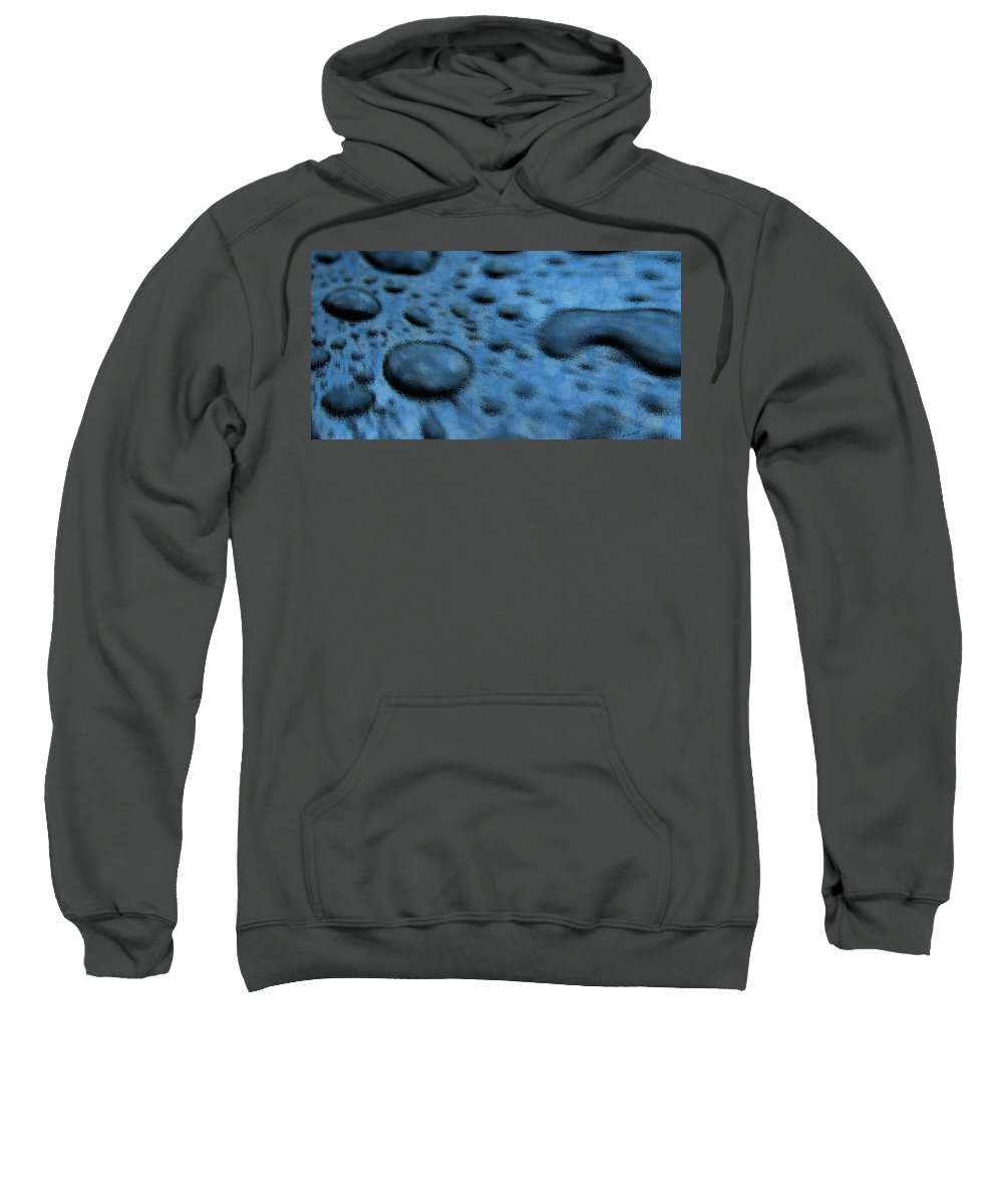 Dissolve Sweatshirt featuring the photograph Dissolve by Ed Smith