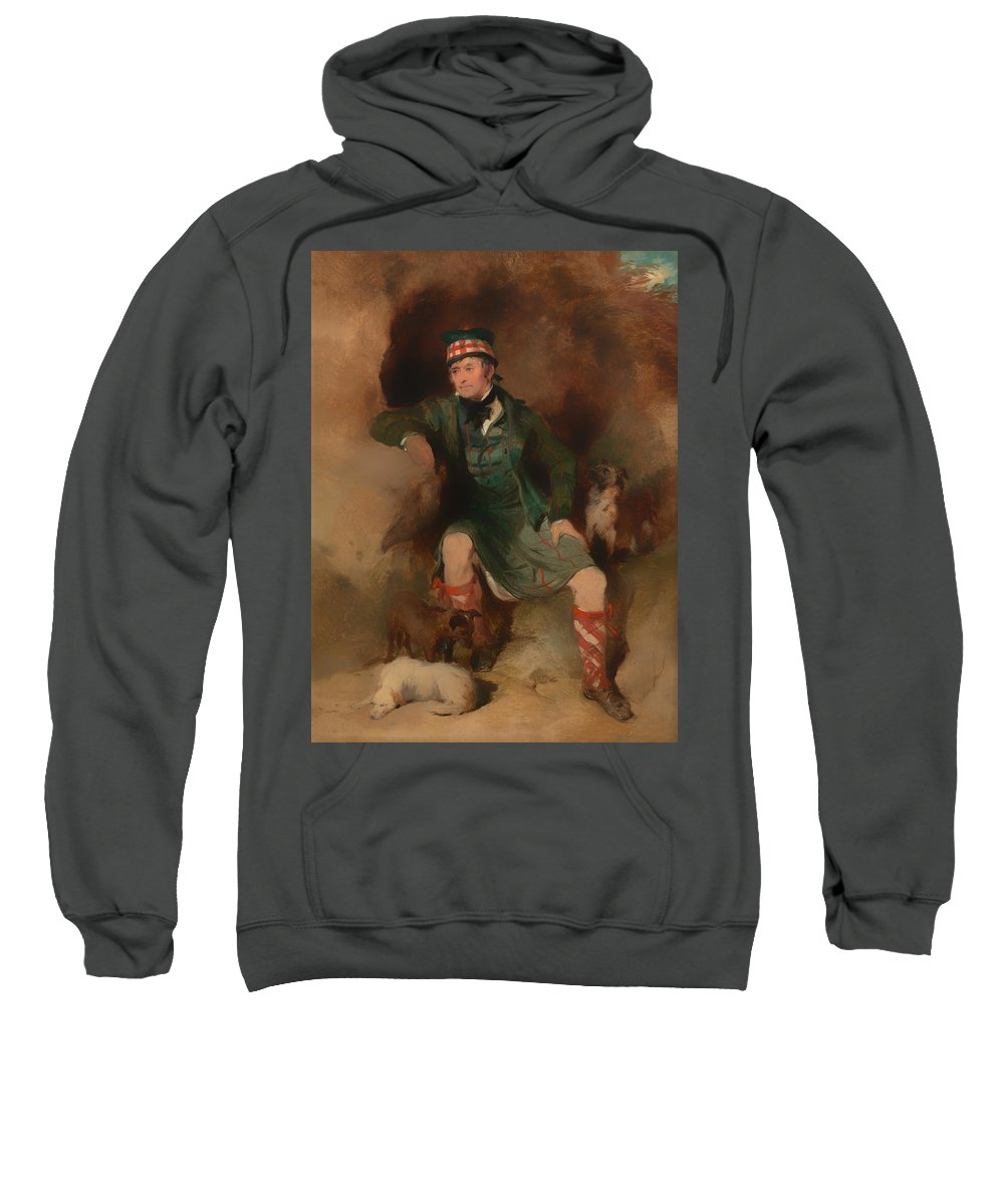 Painting Sweatshirt featuring the painting Donald Mcintyre by Mountain Dreams