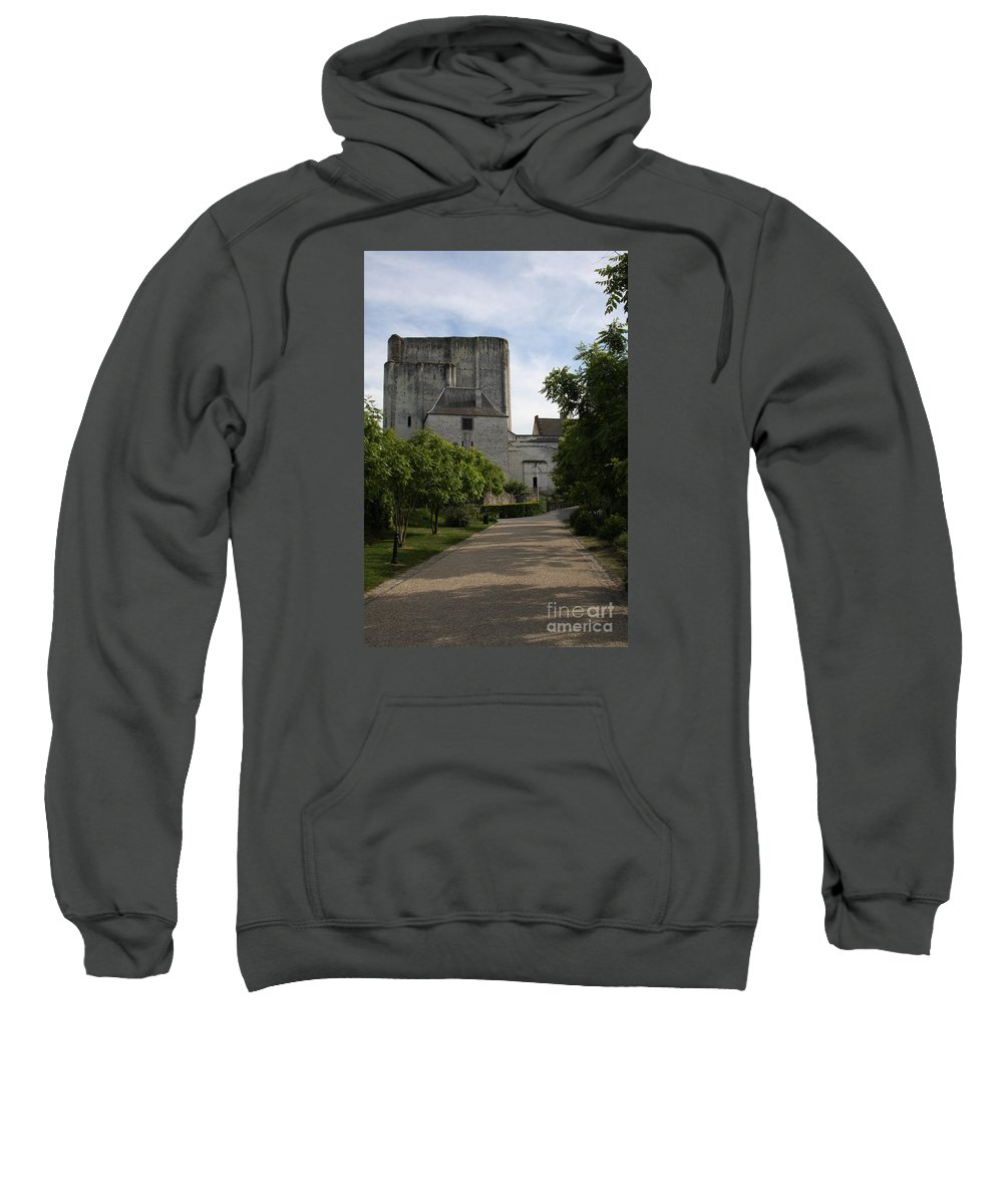 Donjon Sweatshirt featuring the photograph Donjon Loches - France by Christiane Schulze Art And Photography