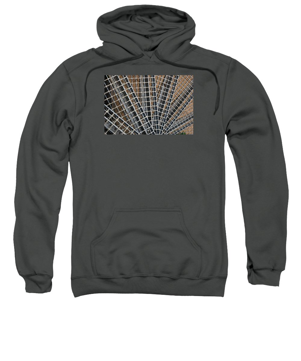 Downward Sweatshirt featuring the photograph Downward Spiral by Wendy Wilton