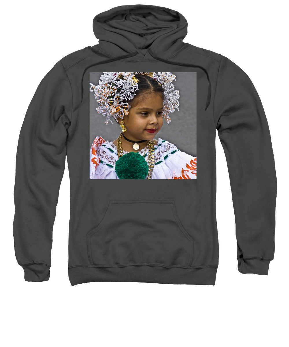 Girl Sweatshirt featuring the photograph Dressed For Festivity by Heiko Koehrer-Wagner