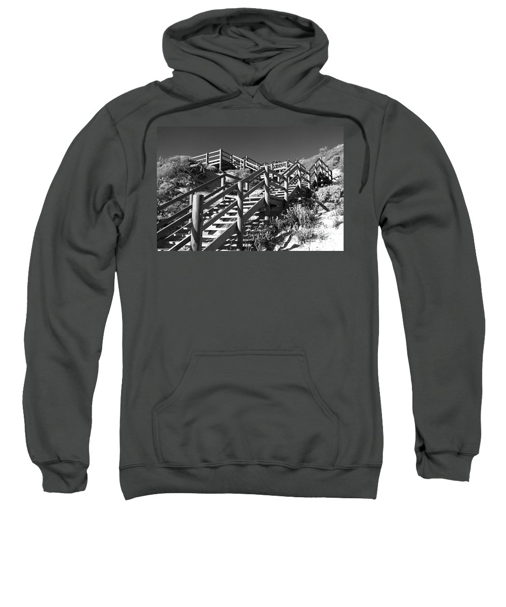 Australia Sweatshirt featuring the photograph Dune Steps 04 by Rick Piper Photography