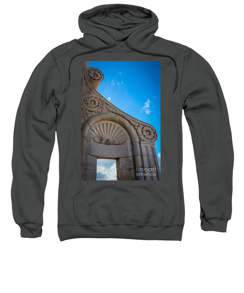 Duomo Sweatshirt featuring the photograph Duomo Detail by Inge Johnsson