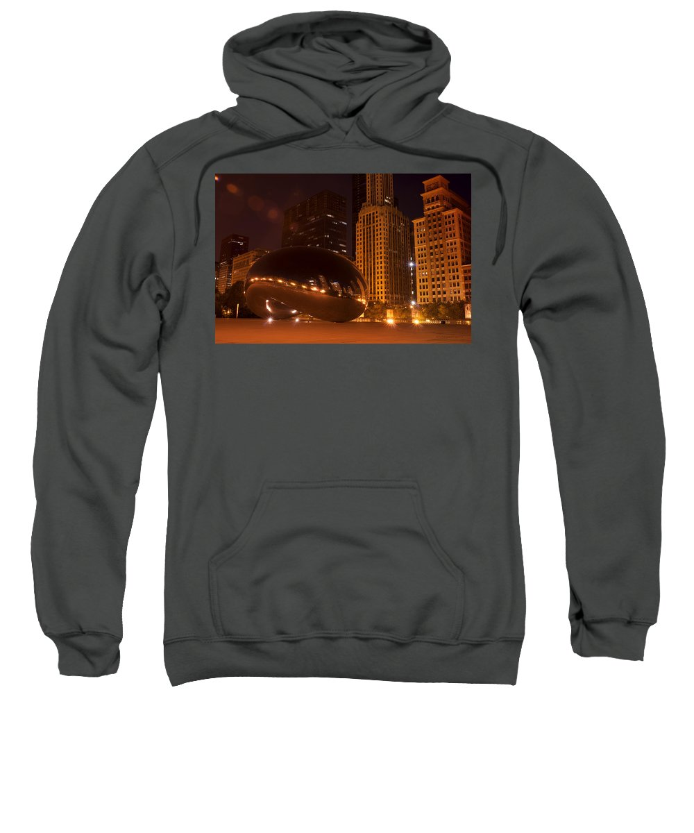 Chicago Sweatshirt featuring the photograph Early Hours In Chicago by Miguel Winterpacht