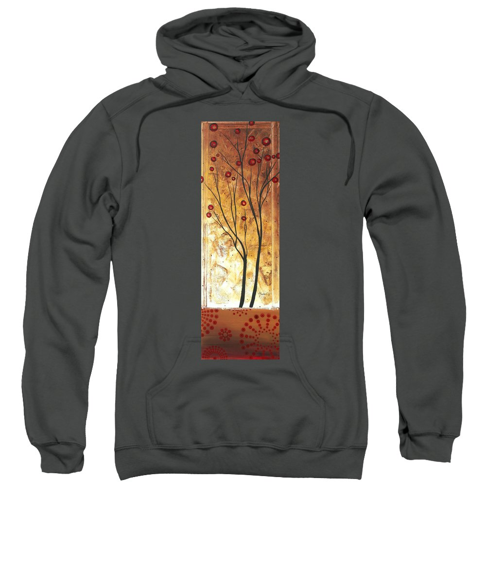 Painting Sweatshirt featuring the painting Eclectic Dream Original Painting Madart by Megan Duncanson