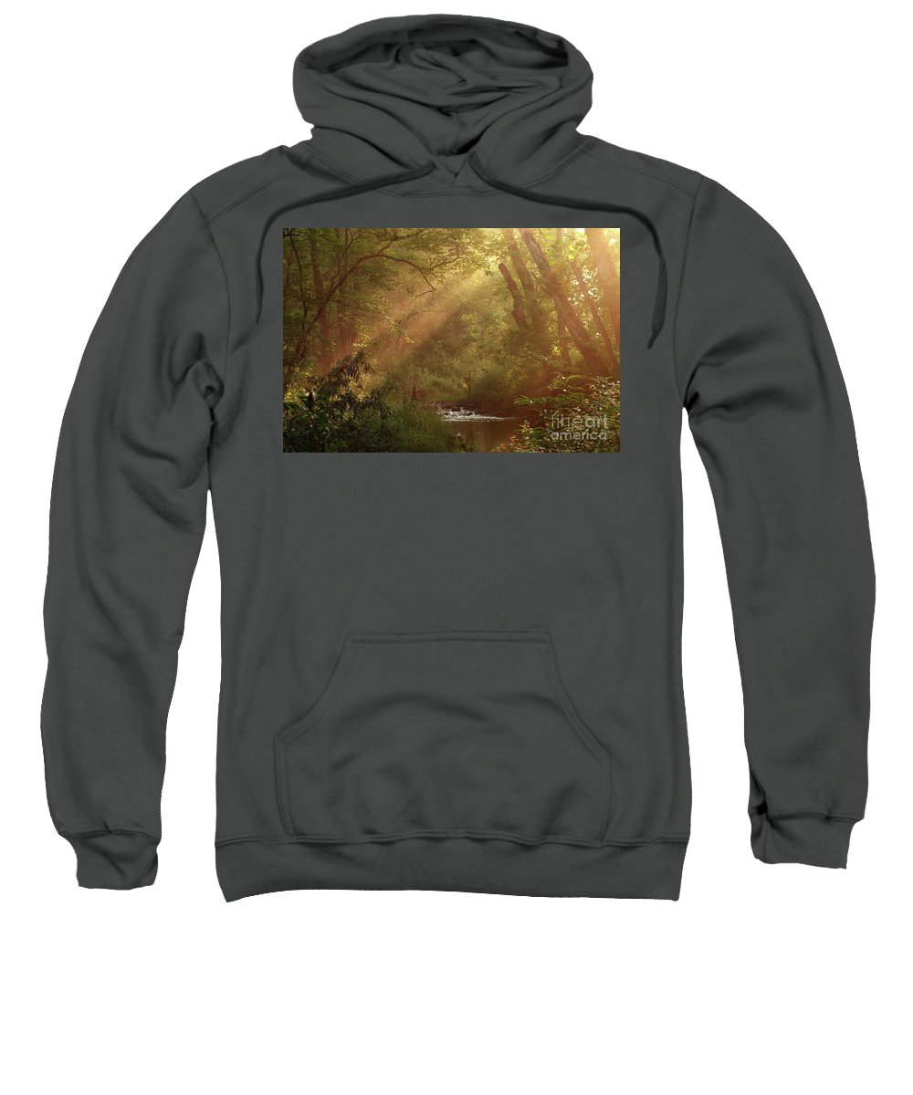 Sunlight Sweatshirt featuring the photograph Eden...maybe. by Douglas Stucky