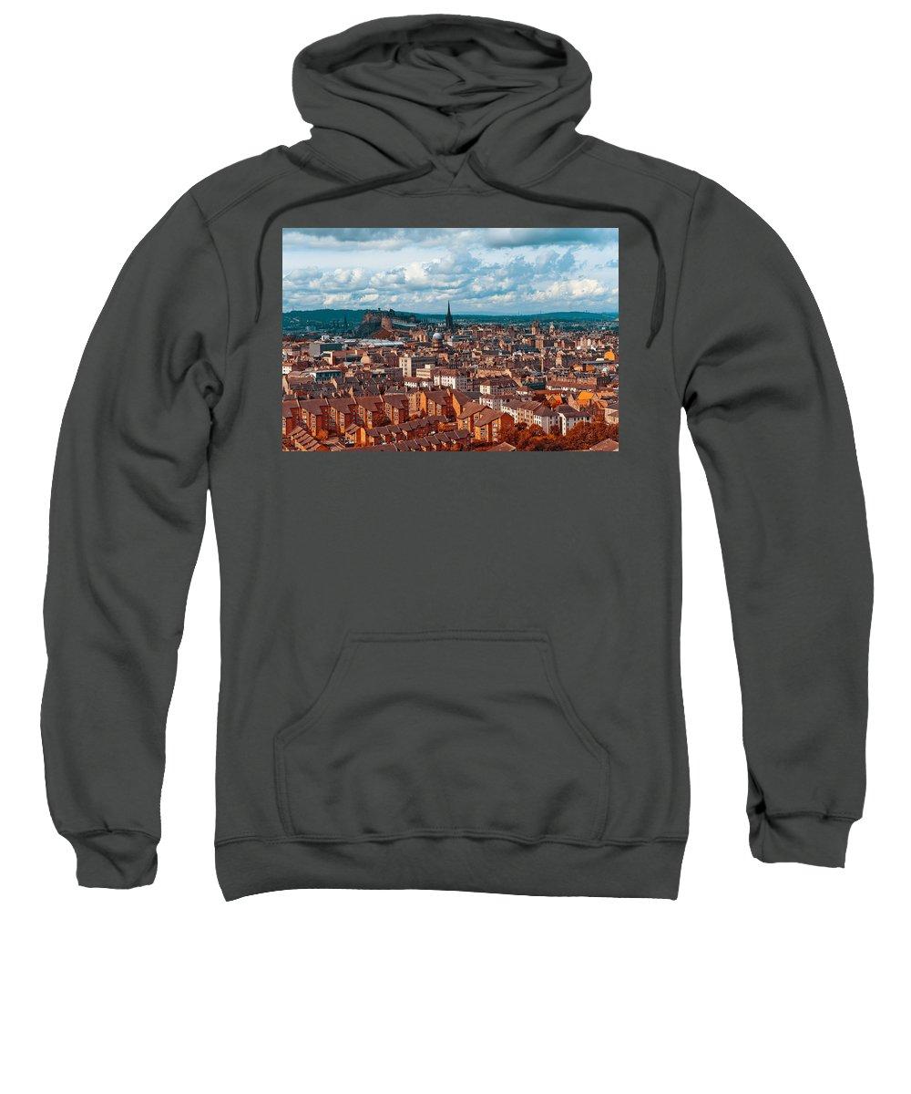 Scotland Sweatshirt featuring the photograph Edinburgh. Scotland by Jenny Rainbow