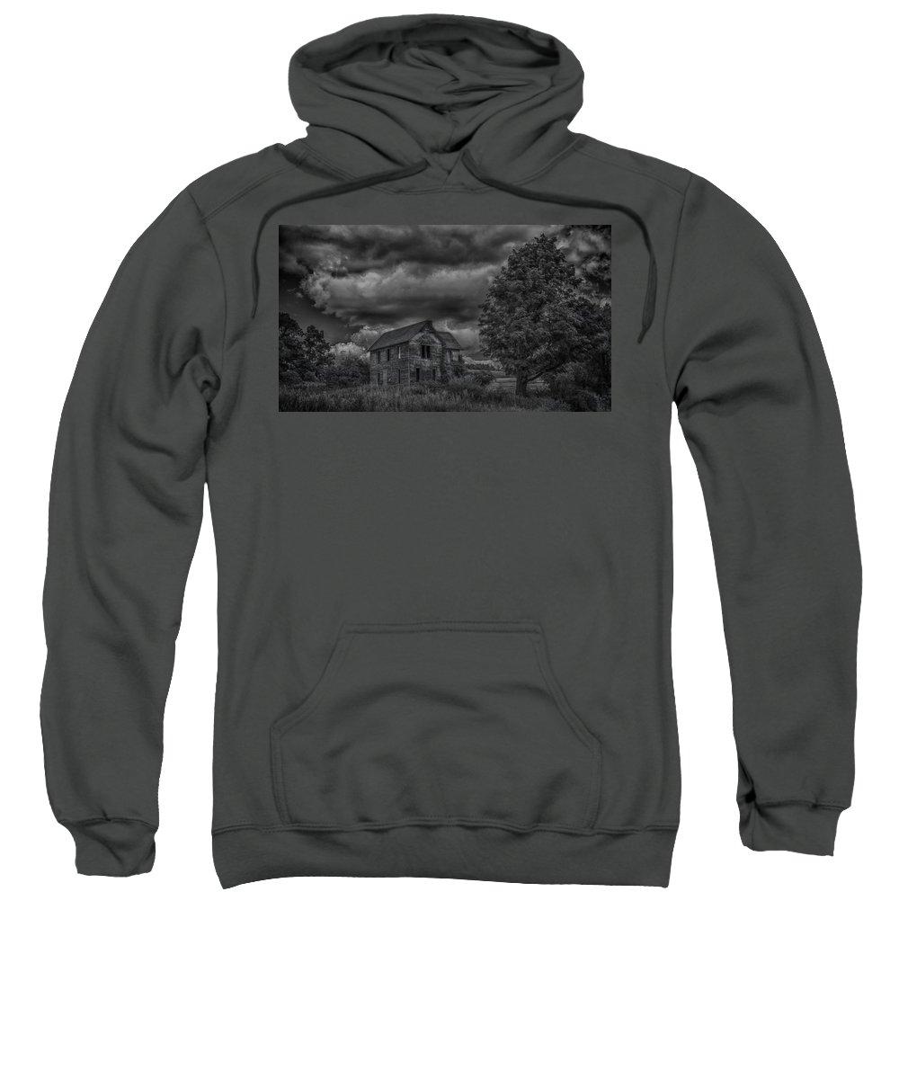 Guy Whiteley Photography Sweatshirt featuring the photograph Eerie by Guy Whiteley
