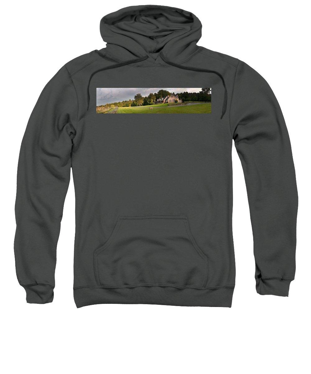 Sweatshirt featuring the photograph Eighteen by Randall Branham