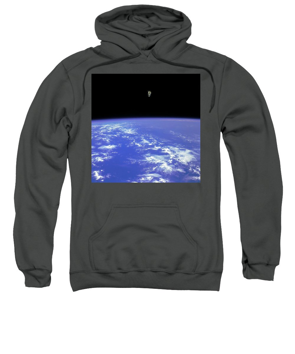 Space Shuttle Sweatshirt featuring the photograph Evation by Chad Rowe