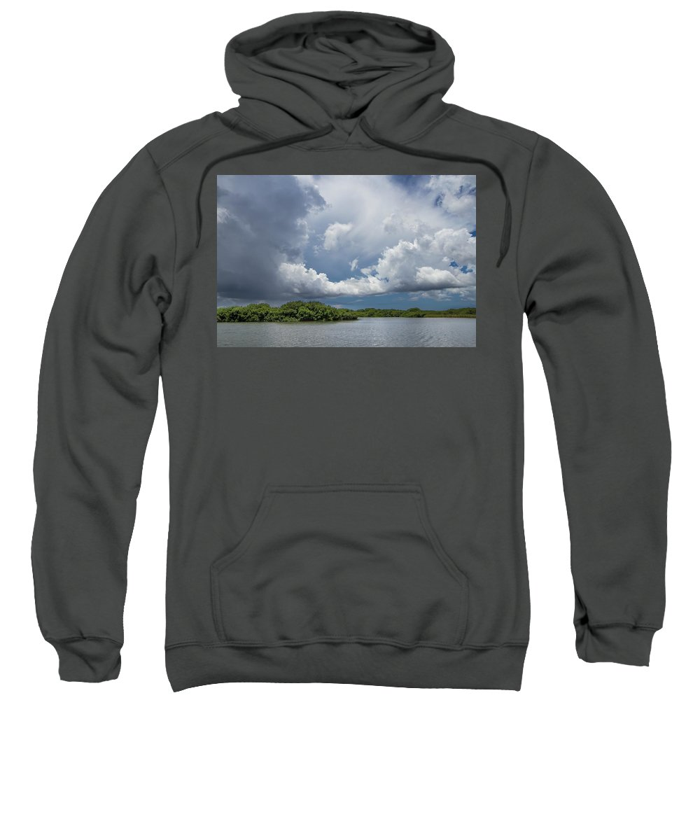 Everglades Sweatshirt featuring the photograph Everglades 0257 by Rudy Umans