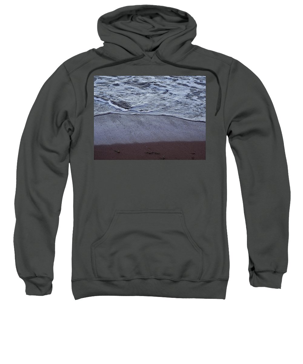 Ocean Sweatshirt featuring the photograph Every Grain Of Sand by Ian MacDonald
