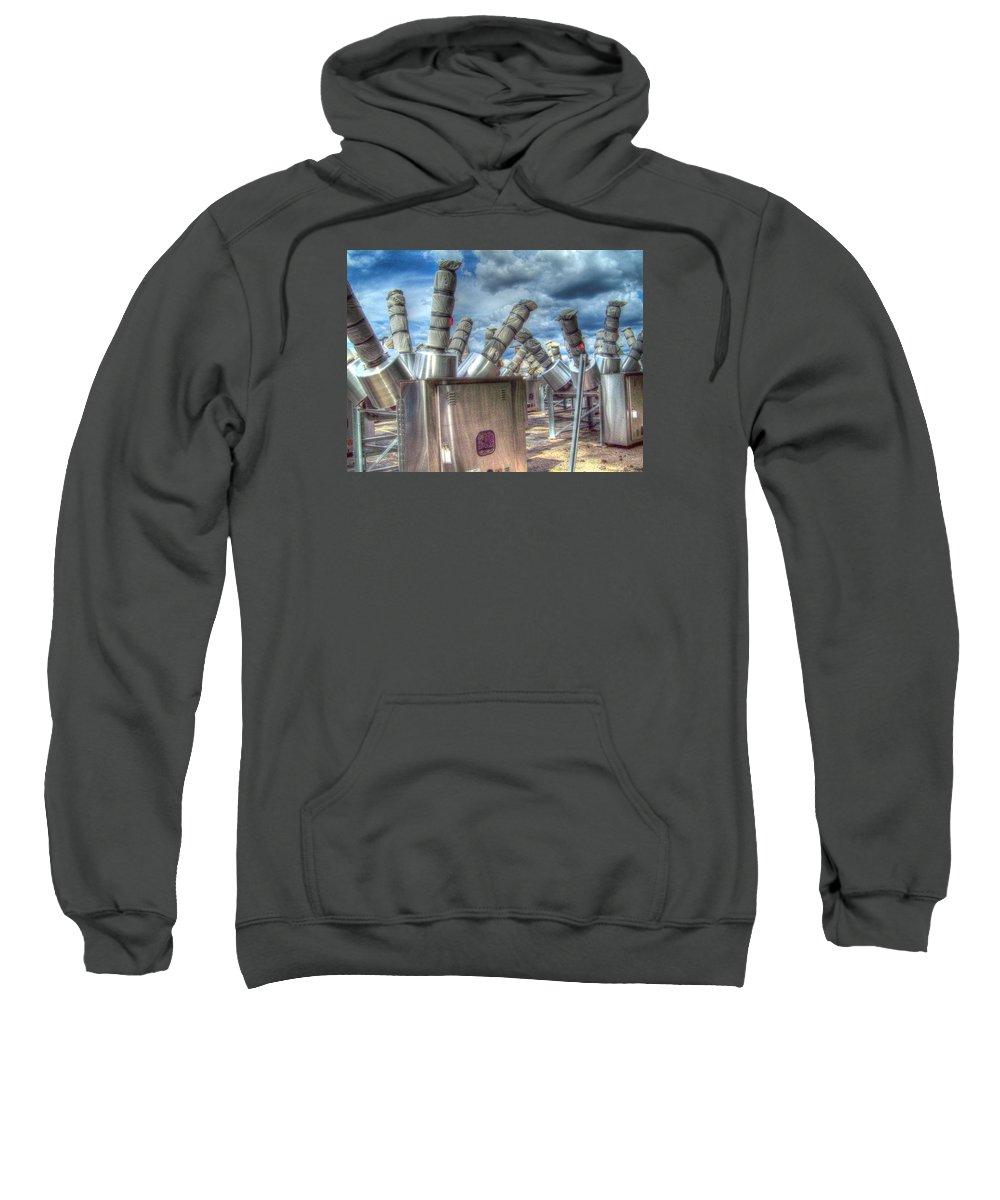 Mj Olsen Sweatshirt featuring the photograph Exterminate - Exterminate by MJ Olsen