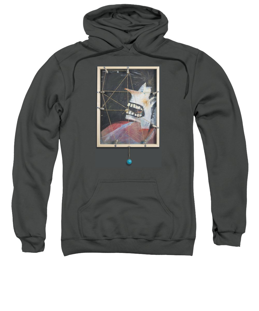 Tooth Sweatshirt featuring the painting Extraction by Tim Nyberg