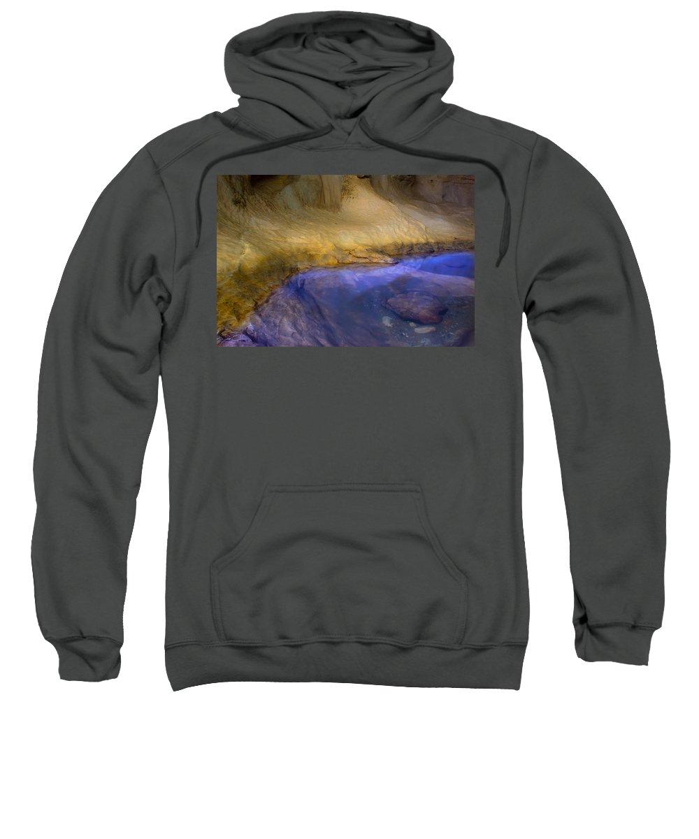 Eyes Water Sweatshirt featuring the photograph Eyes Water by Edgar Laureano