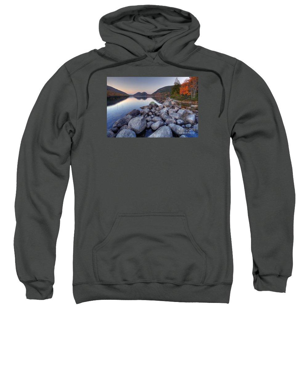 Award Winning Sweatshirt featuring the photograph Fall Flames by Marco Crupi