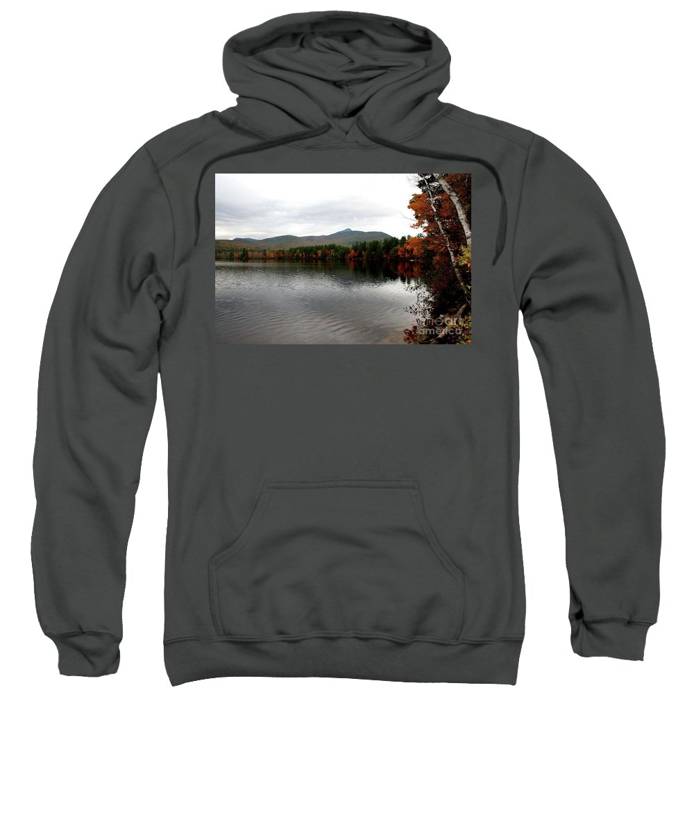 Fall Sweatshirt featuring the photograph Fall Reflection II by Christiane Schulze Art And Photography