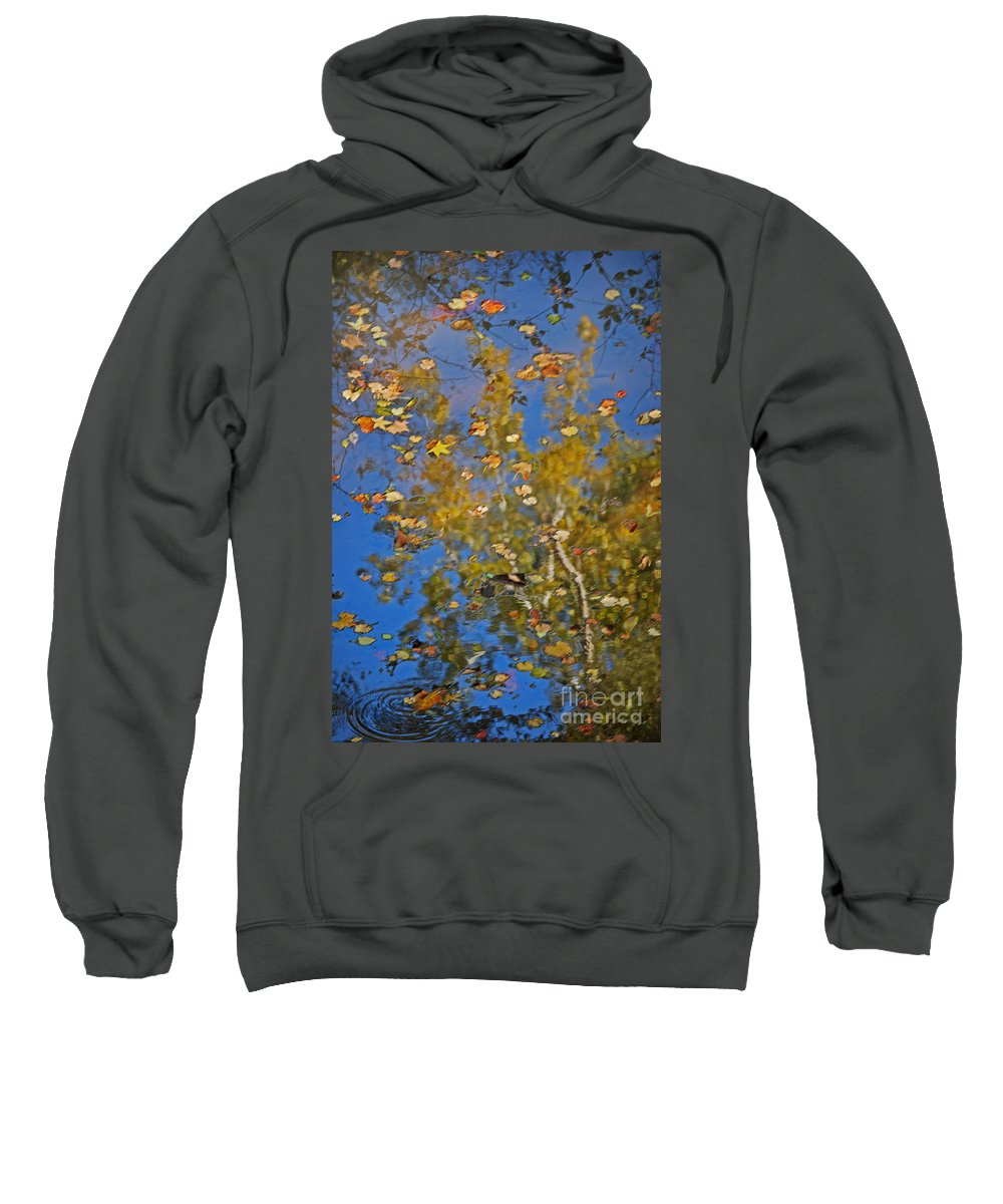 Scenic Tours Sweatshirt featuring the photograph Fall Reflections by Skip Willits