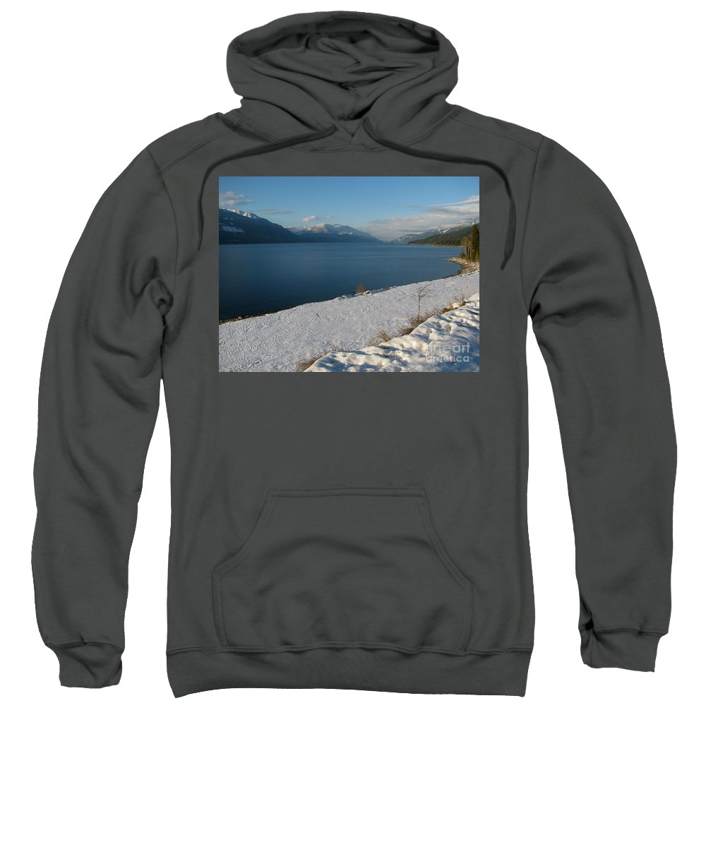 Kootenay Sweatshirt featuring the photograph Far And Beyond by Leone Lund