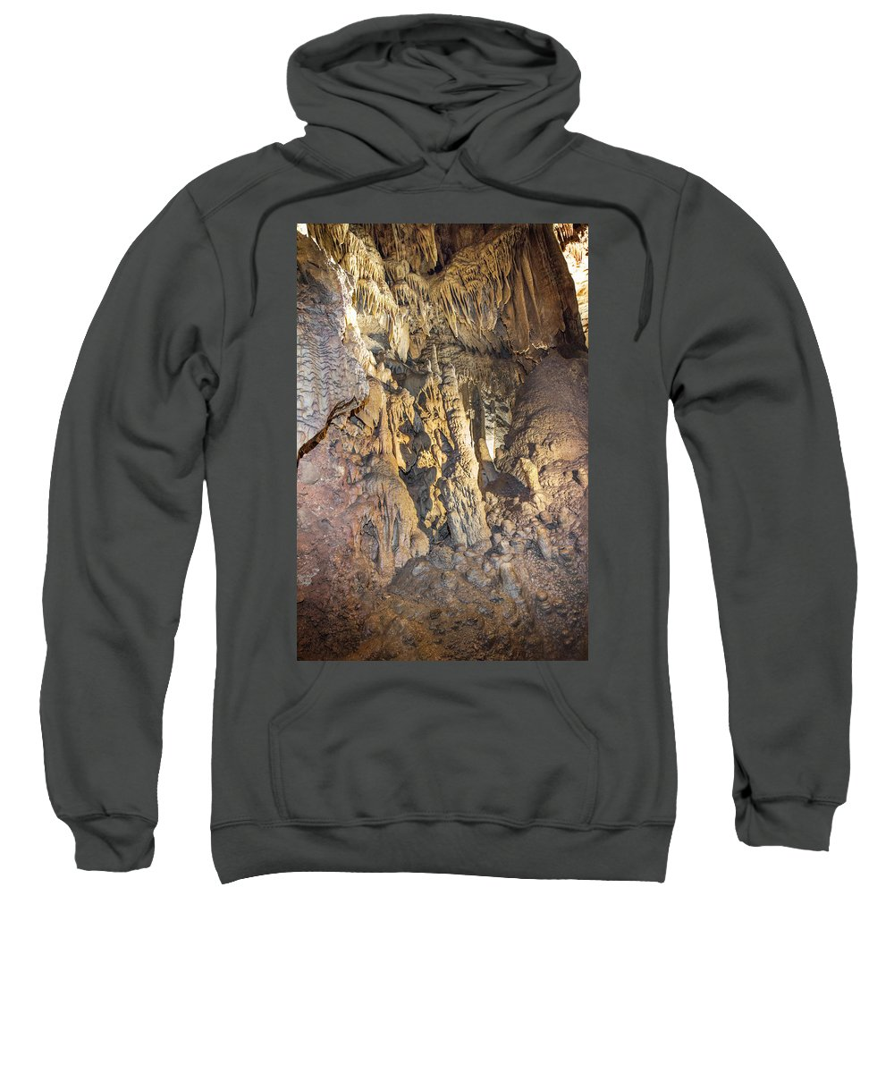 Mammoth Cave National Park Sweatshirt featuring the photograph Finger Rock by Mary Almond