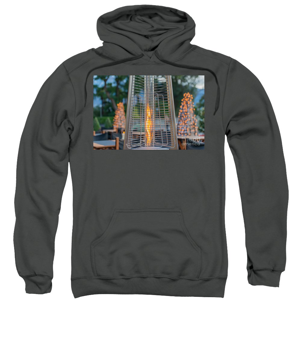 Fire Sweatshirt featuring the photograph Fire by Mats Silvan