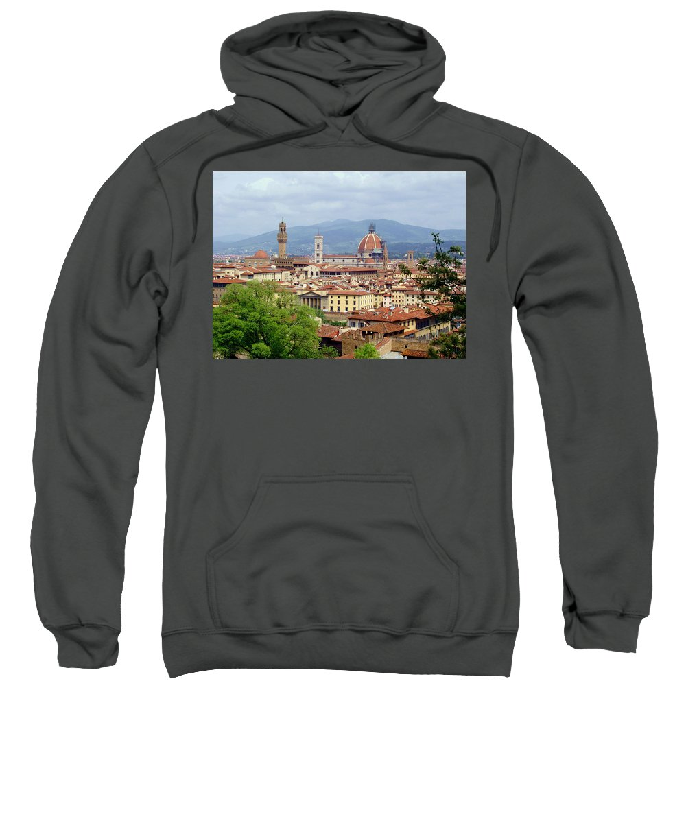 Florence Sweatshirt featuring the photograph Florence by Ellen Henneke