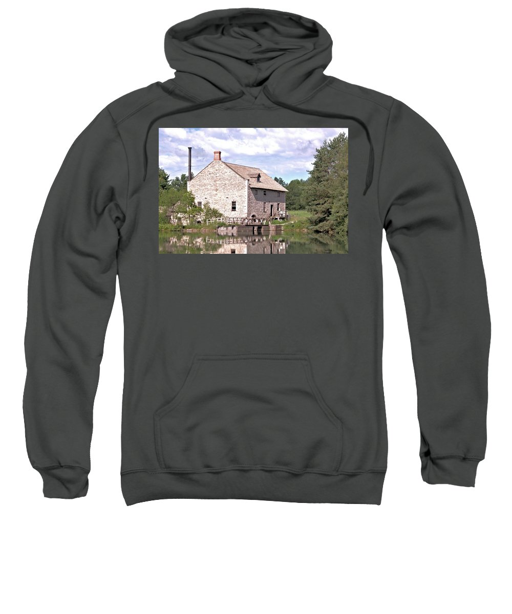 Flour Mill Sweatshirt featuring the photograph Flour Mill by Valerie Kirkwood