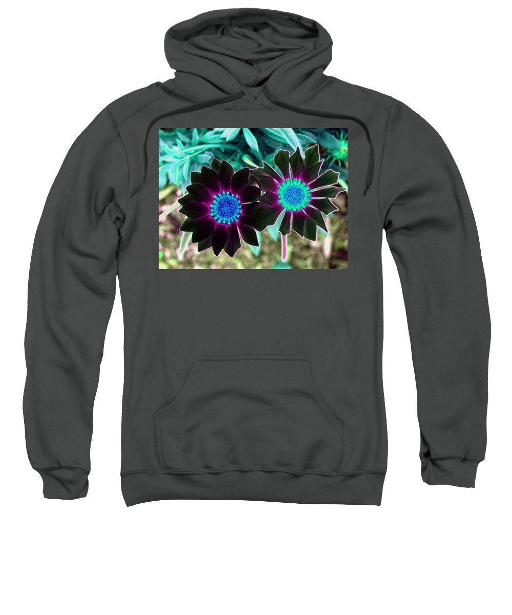 Flower Sweatshirt featuring the photograph Flower Power 1456 by Pamela Critchlow