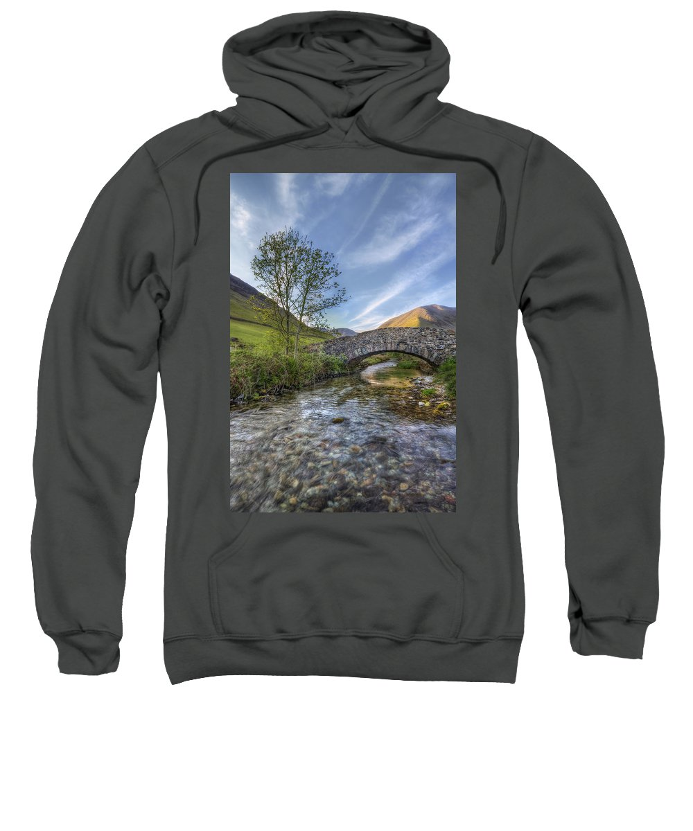 Landscape Sweatshirt featuring the photograph Follow Your Bliss by Evelina Kremsdorf