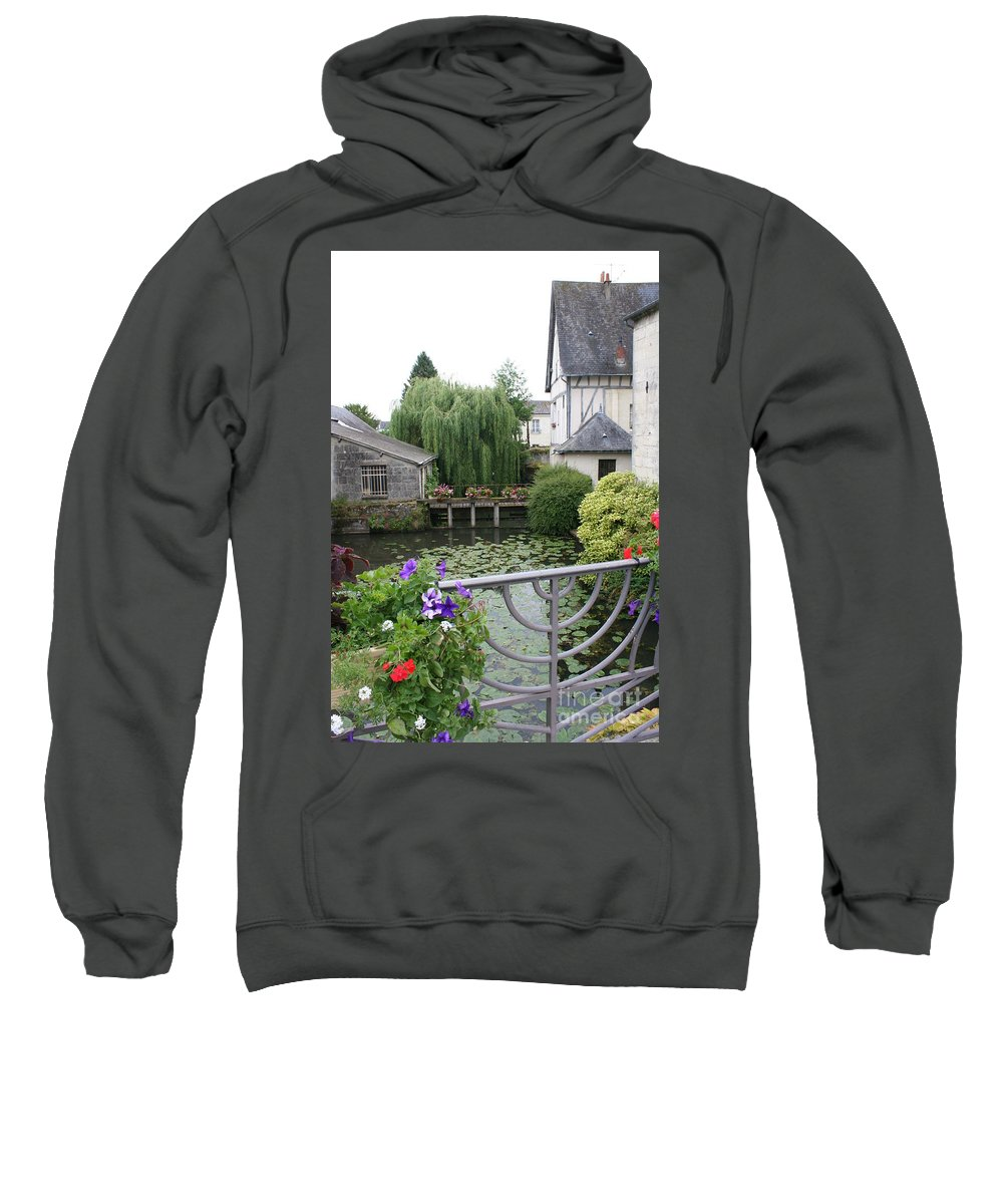 Village Sweatshirt featuring the photograph French Village by Christiane Schulze Art And Photography